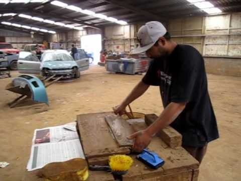 Making Mexican Roof Tile