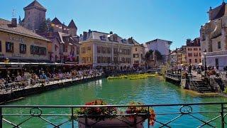 Sortir en Vidéos vous propose de découvrir la ville de Annecy - 2016