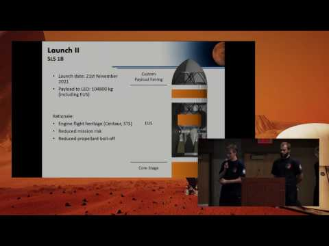 Cranspace - Gemini Mars Mission Design - 19th Annual International Mars Society Convention