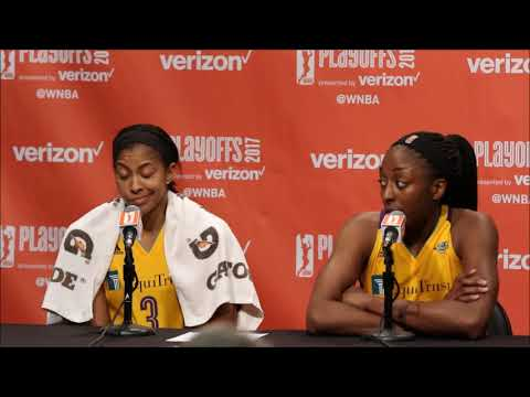 Playoffs Game One Candace Parker and Nneka Ogwumike