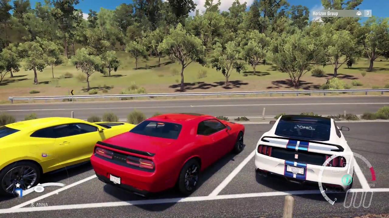 Forza Horizon 3 Modern Muscle Cruise/Drifting - YouTube