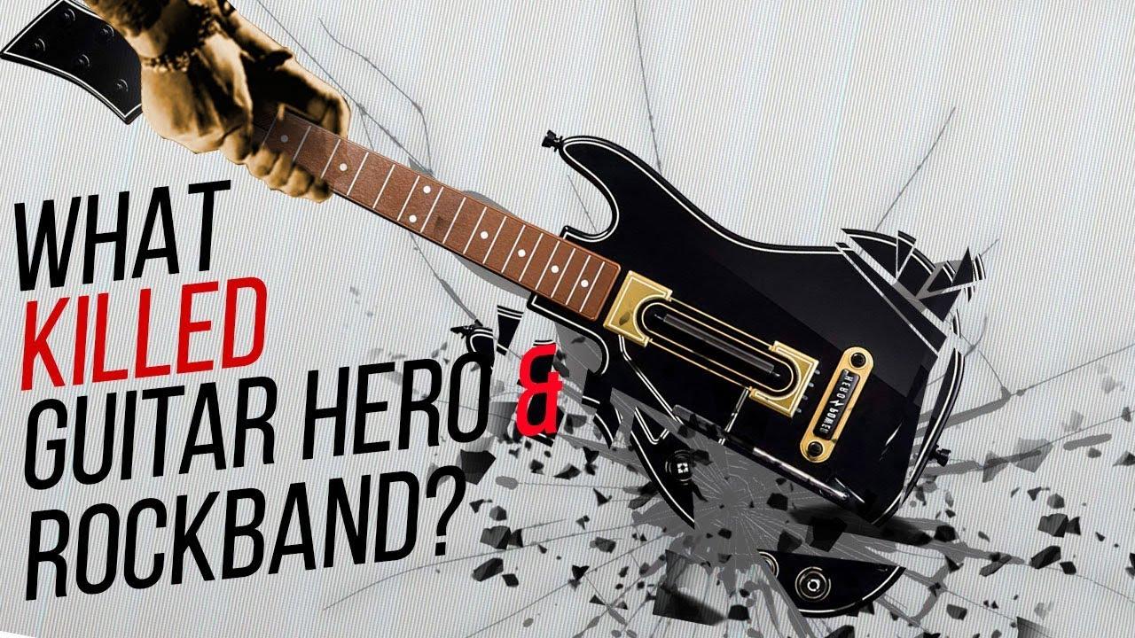 What Killed GUITAR HERO/ROCK BAND Games?