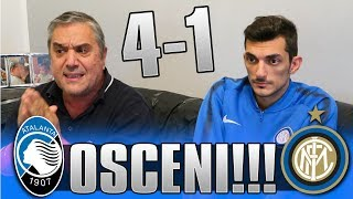 Pazzesco...ATALANTA 4-1 INTER | LIVE REACTION GOL HD