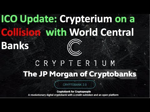 New Update: Crypterium ICO Collides with The Worlds Central Banks