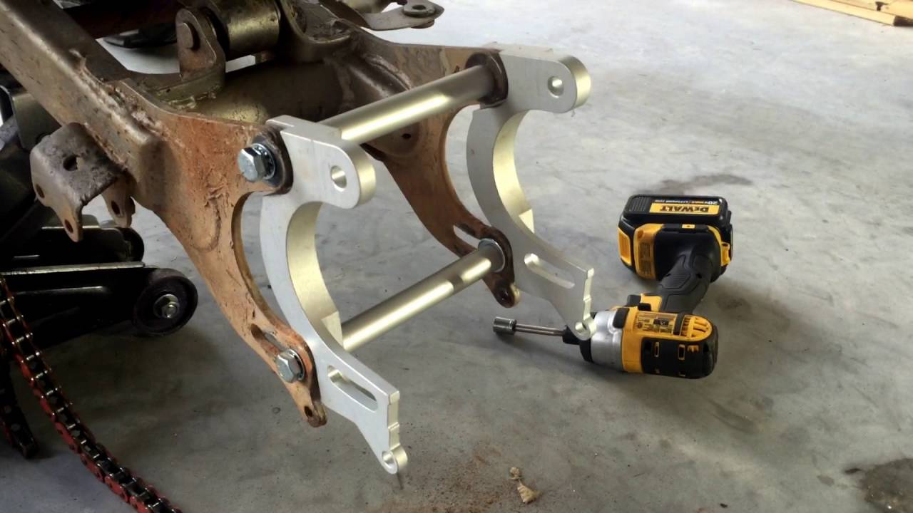 How to Install Yamaha Blaster / Banshee Swing-arm Extension Kit