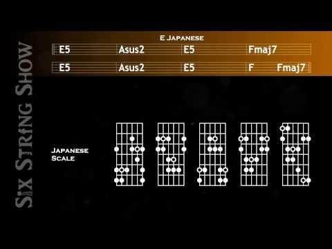 E Japanese Guitar Backing Track
