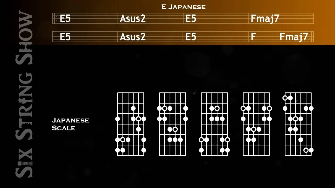 E Japanese Guitar Backing Track Youtube
