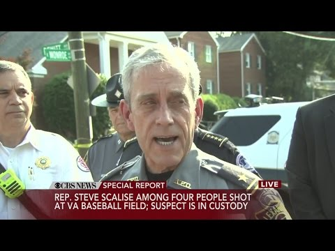 Police Update On Shooting Of Rep. Steve Scalise, 3 Others