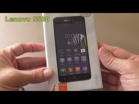 Unboxing Lenovo S580 Mobile Phone