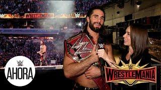 En el Backstage de WrestleMania 35   Diario de WrestleMania 35 Ep.3   WWE Ahora