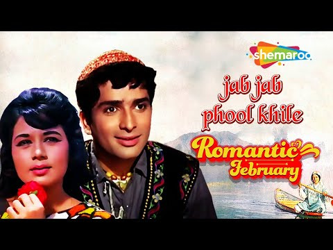 Jab Jab Phool Khile  Hindi Full Movies  Nanda, Shashi Kapoor  Bollywood Hit Movie