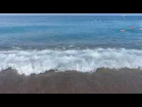 Gypsophila Holiday Village, Турция, Аланья, пляж отеля, сентябрь 2018 г.