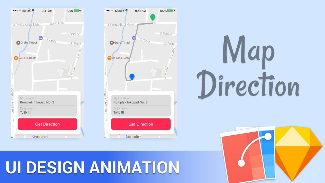 Sketch app flinto animation tutorial maps direction youtube sketch app flinto animation tutorial maps direction ccuart Image collections