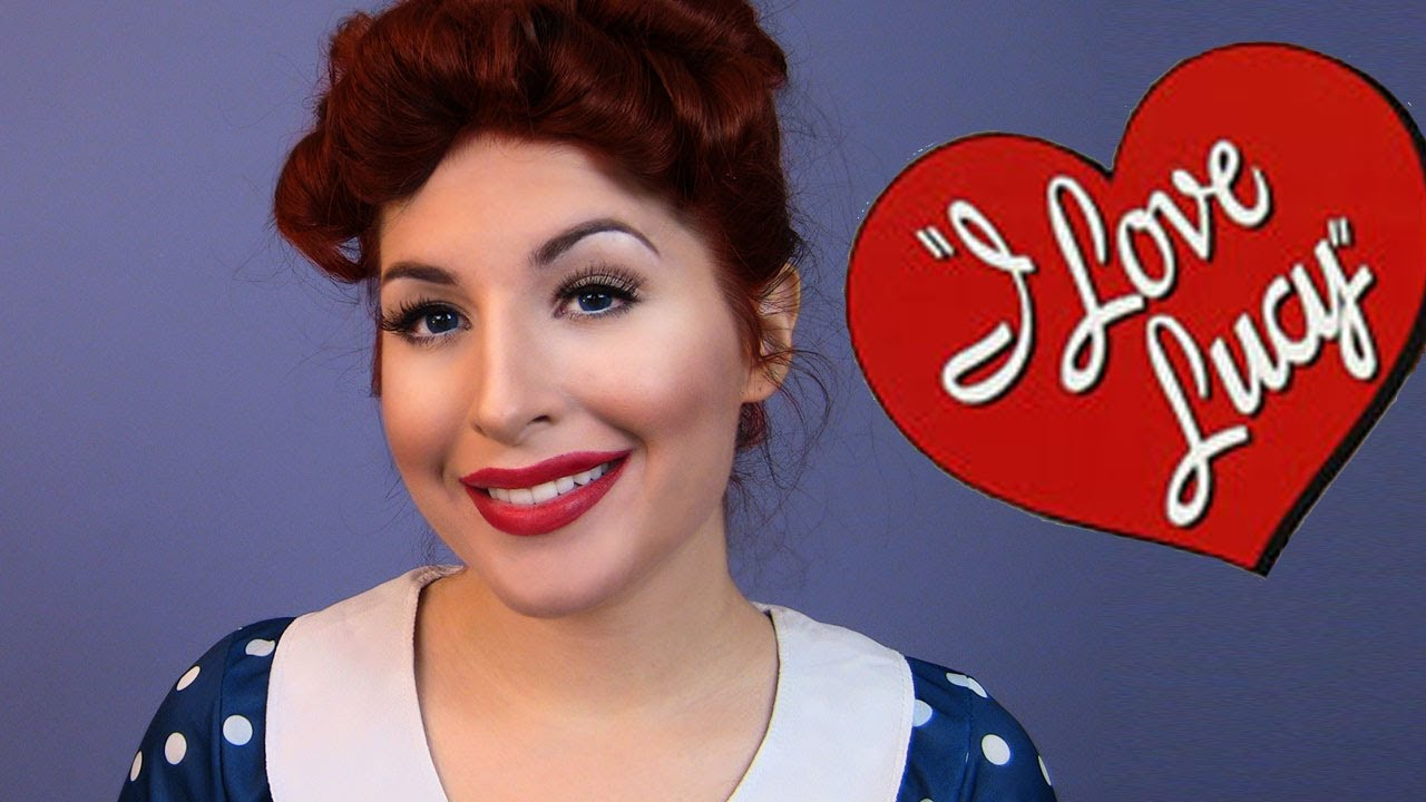i love lucy makeup tutorial for halloween missjessicaharlow youtube - I Love Lucy Halloween Costumes