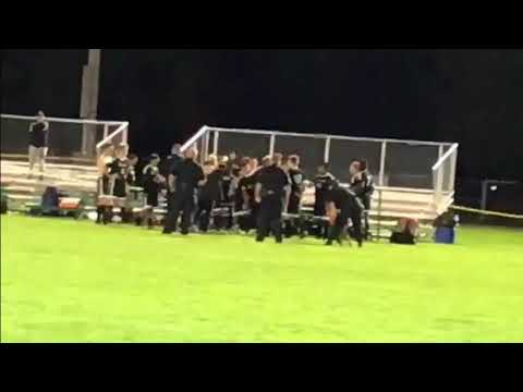 High school athlete threatened with arrest after on-field scuffle, witnesses say