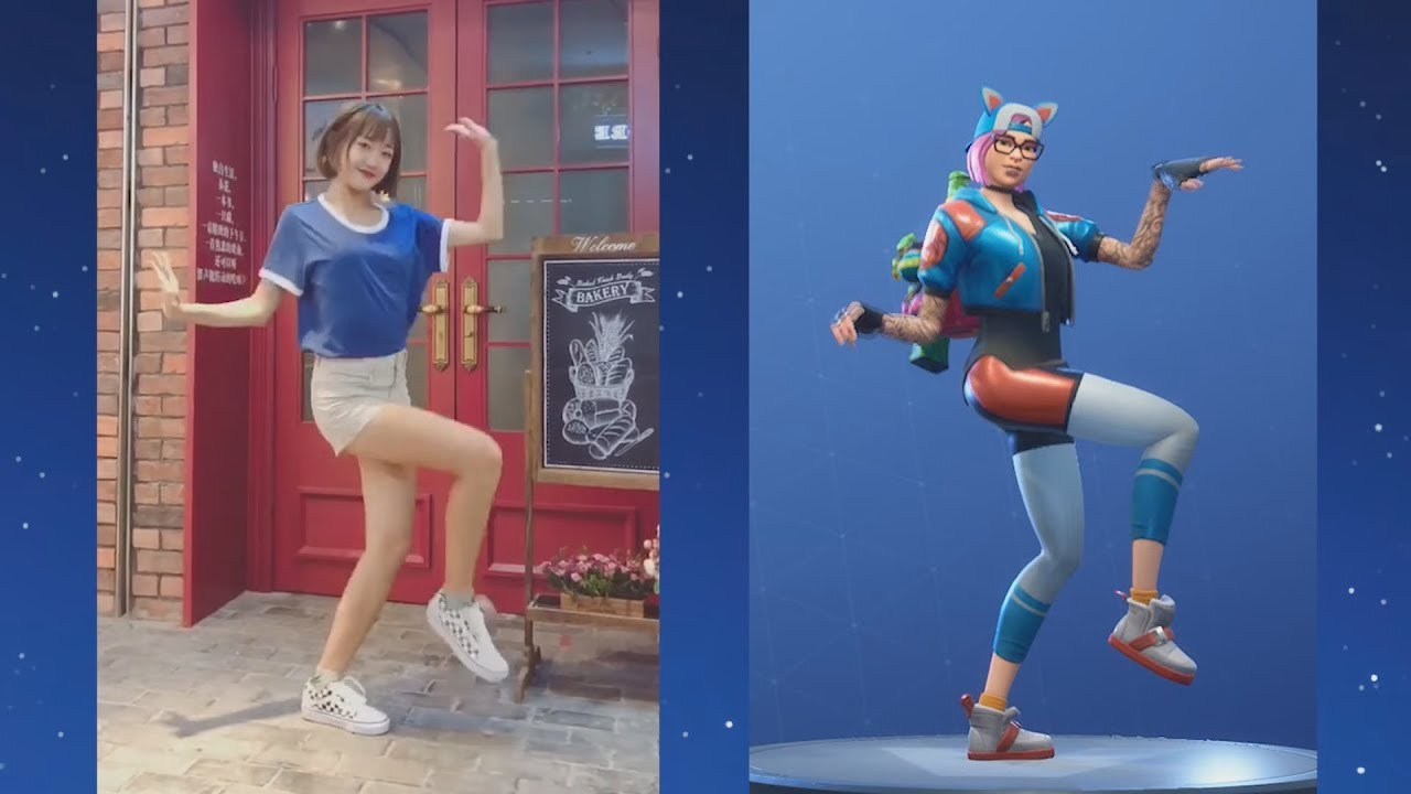 Download Fortnite *NEW* SHIMMER DANCE In Real Life,Chinese TikTok