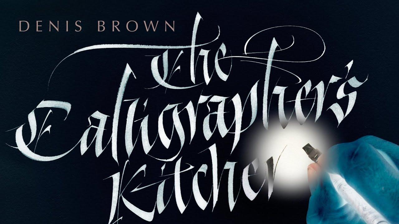 The Calligrapher 39 S Kitchen Youtube