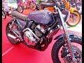 Modification Honda CB 400 SF Custom Scrambler Motorcycle