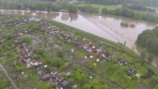 Hochwasser Hildesheim Hohnsensee 27.05.2013