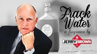 Frack Water Cologne Commercial starring Jerry Brown as Matthew McConaughey