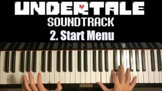 Undertale OST - 2. Start Menu Theme (Piano Cover by Amosdoll)