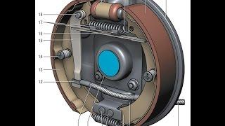 ремонт заднего тормозного цилиндра Газель ( ремкомплект )