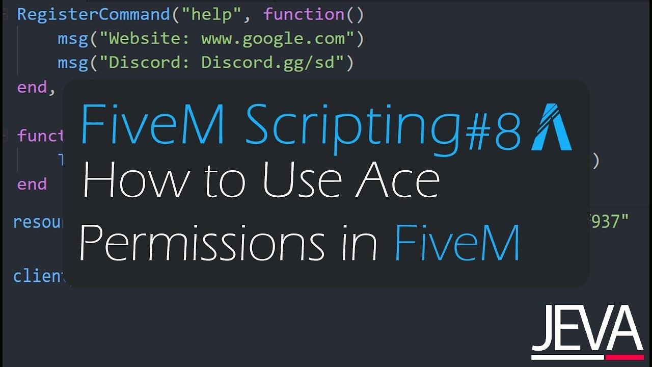 FiveM Scripting 1 - Create Your First FiveM Resource (Lua for beginners)