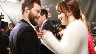 Jamie Dornan and Dakota Johnson moments 2
