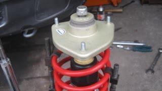 Замена передних стоек, опор и пружин ВАЗ 2110, 2112, Лада Калина, Гранта, Приора, 2109