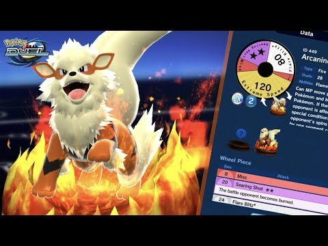 ARCANINE IS A HOT TOPIC IN POKEMON DUEL RIGHT NOW