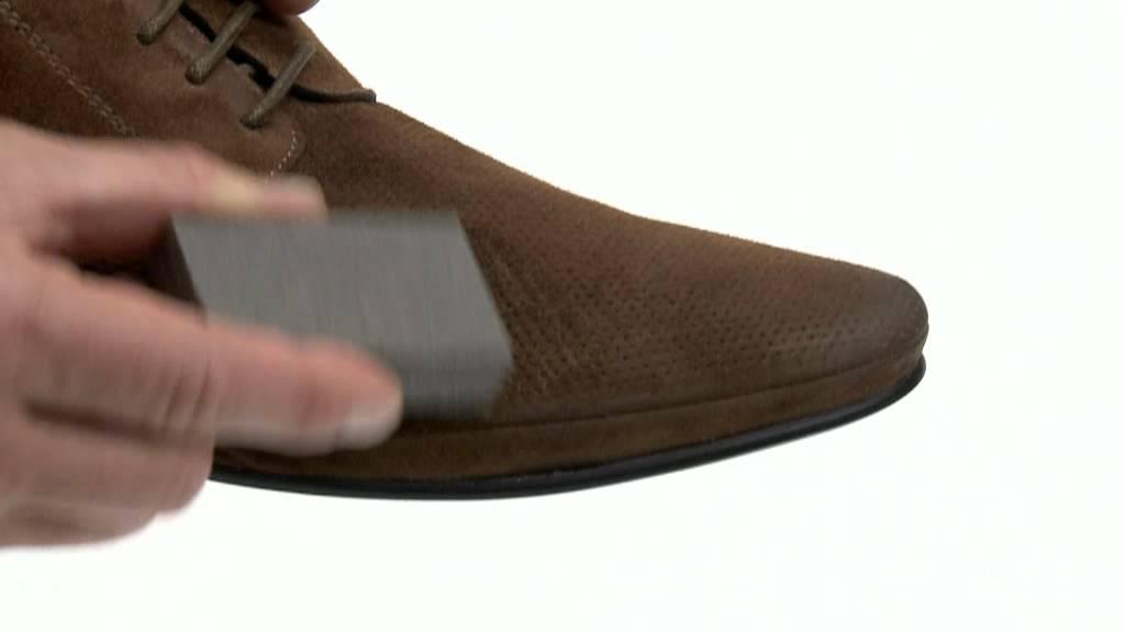 Schuhe velour reinigen