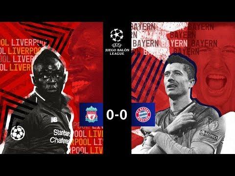 LIVERPOOL vs BAYERN MÚNICH | 8vos Champions League | Narrando & comentando