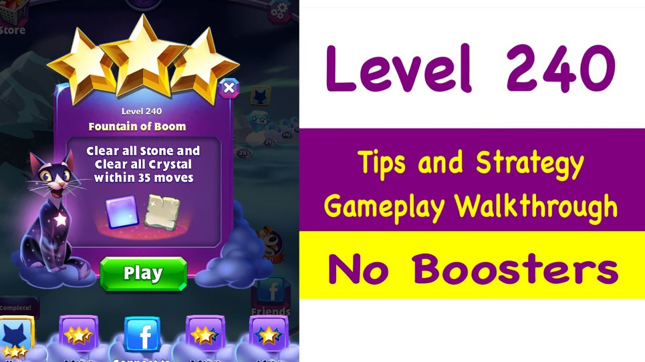 Repeat Bejeweled Stars - Level 240 - Tips and Strategy