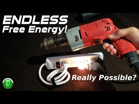 Endless Free Energy Power Strip EXPOSED!