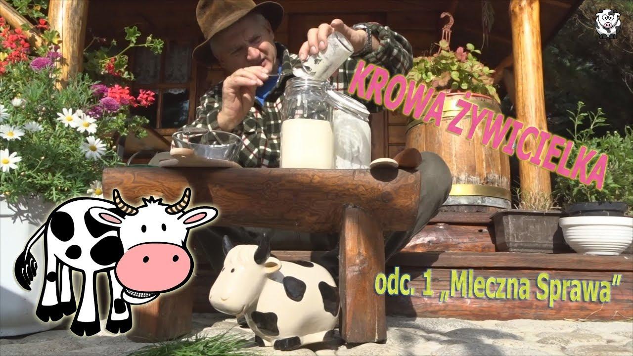 Leszek Żniwiarz o krowie, mleku i maśle