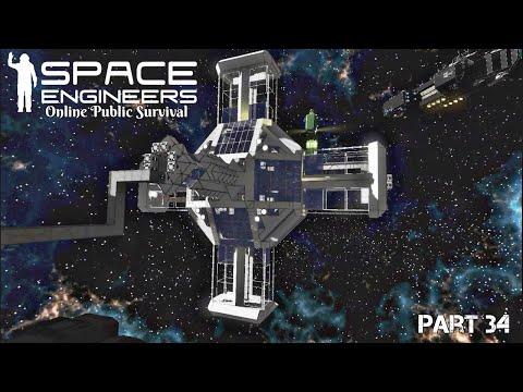 "Space Engineers: Online Public Survival Part 34 ""Fountain Core"""