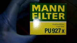 Замена топливного фильтра на свежих дизельных 2.0 DI моторах:Ford Focus,Kuga.PEUGEOT 508