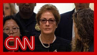 Marie Yovanovitch testifies before Congress
