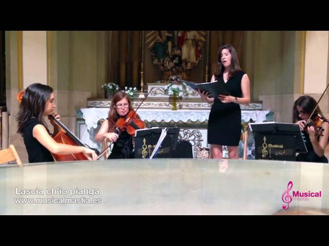 Lascia ch'io pianga Iglesia San Juan Bautista de Murcia MUSICA BODAS Musical Mastia Wedding
