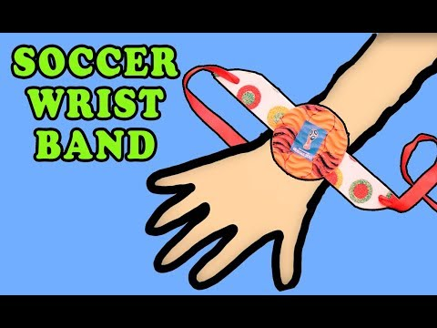 Paper Wristband   Soccer Props   DIY Craft for Football