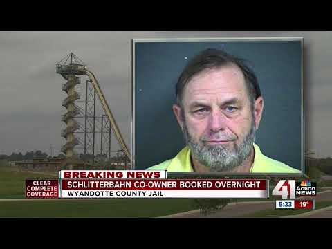 Schlitterbahn co-owner booked in Wyandotte County jail - YouTube