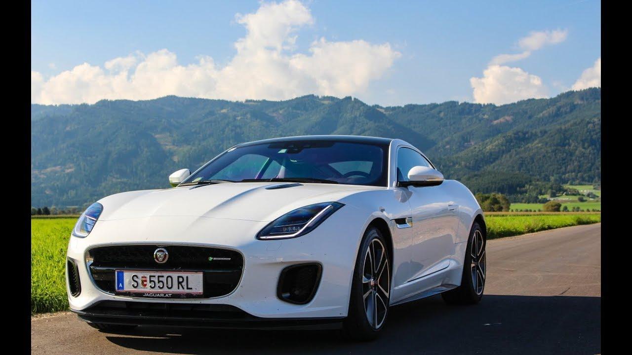 Jaguar F-Type 2.0 PURE CAR SOUND - YouTube