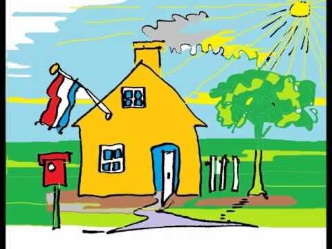 Kleurplaten Delen Van Een Huis.Kleuteridee Wij Bouwen Een Huis