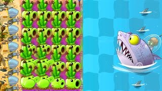 Plants vs Zombies 2 Mod: PEA POD vs ALL ZOMBOSS FIGHT!