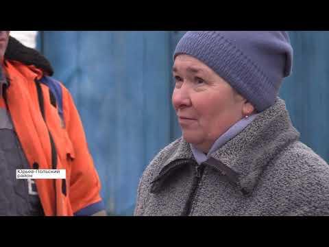 В селе Горки проблема с вывозом мусора: жители недовольны (2019 12 12)