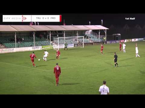 Truro City FC v Frome Town FC - 24th September 2013