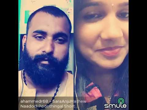 Naadodi poonthinkal song Sara Mathew and Ahammed Rassak