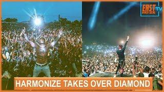 Harmonize Breaks Diamond Platnumz Record In Burundi With A Breathtaking Performance !!!!