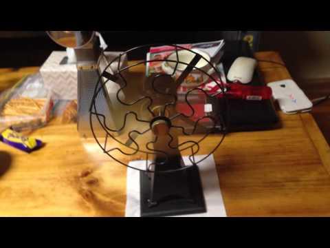 PM Research Fan Solar Engine #6