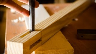 "How To Chop Mortises {part 3 Of ""build A Dovetail Desk With Hand Tools""}"